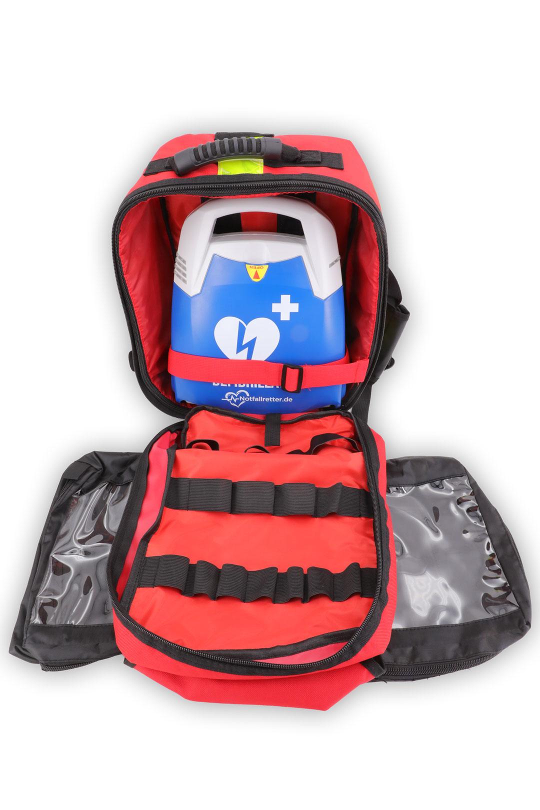 Notfallrucksack AED Transport - Compact