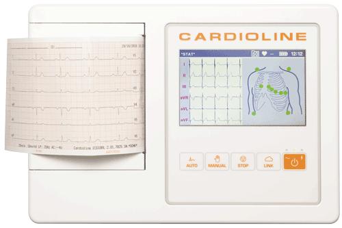 Cardioline 12-Kanal EKG 100L Touchscreen