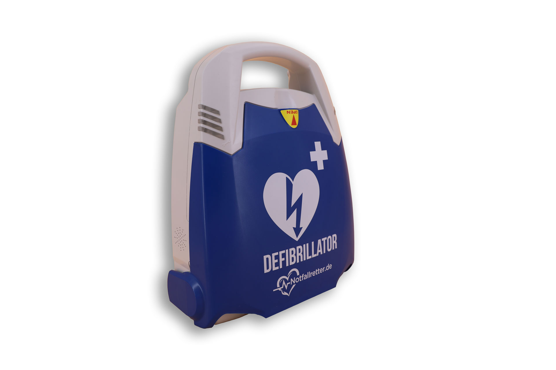 Notfallretter.de® Basic AED - linke Seite
