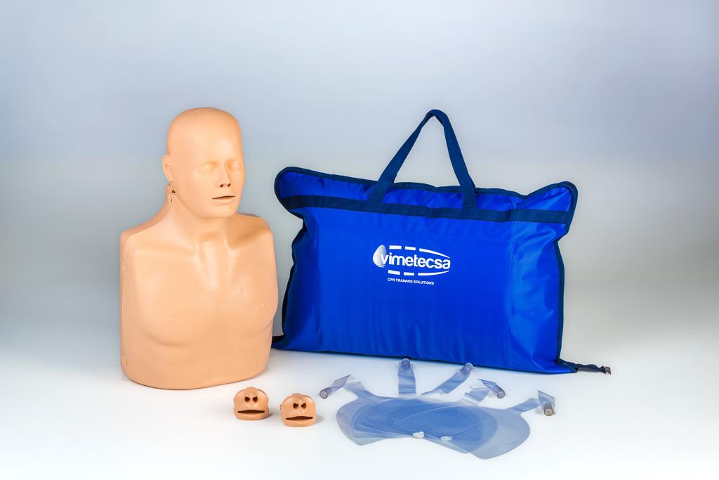 Notfallretter.de® HLW Puppe 2in1 für Trainingszwecke