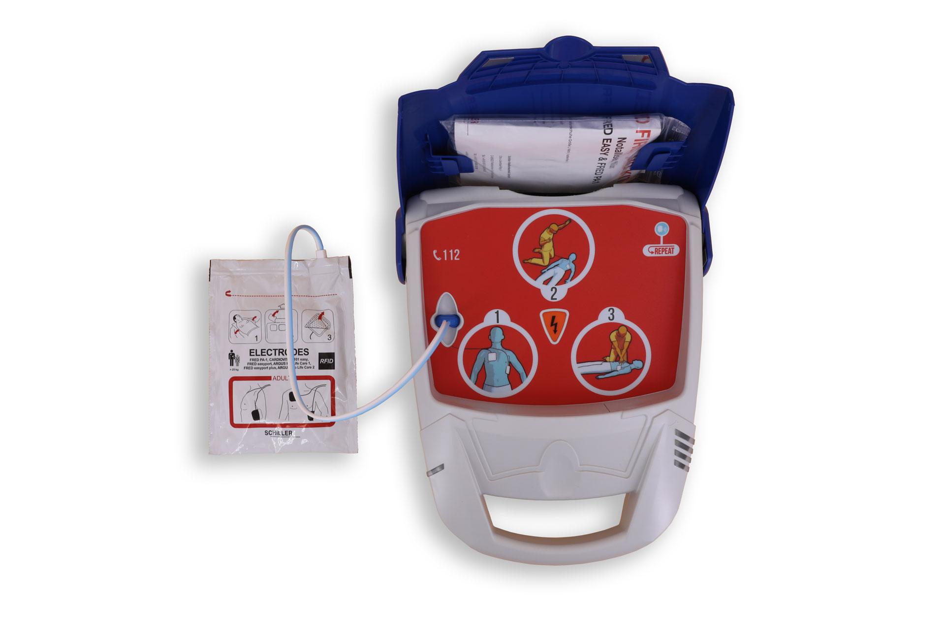 Notfallretter.de® Basic AED - geöffnet