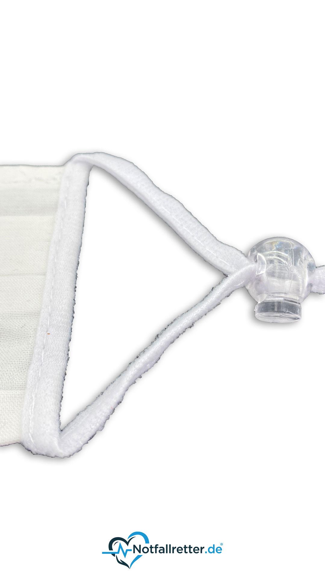 Mund-Nasen-Maske  mit Kordelstopper (Community Maske)