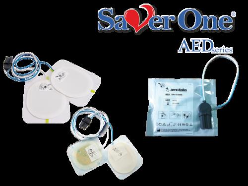 Erwachsenen-Elektroden für alle Saver One Defibrillatoren