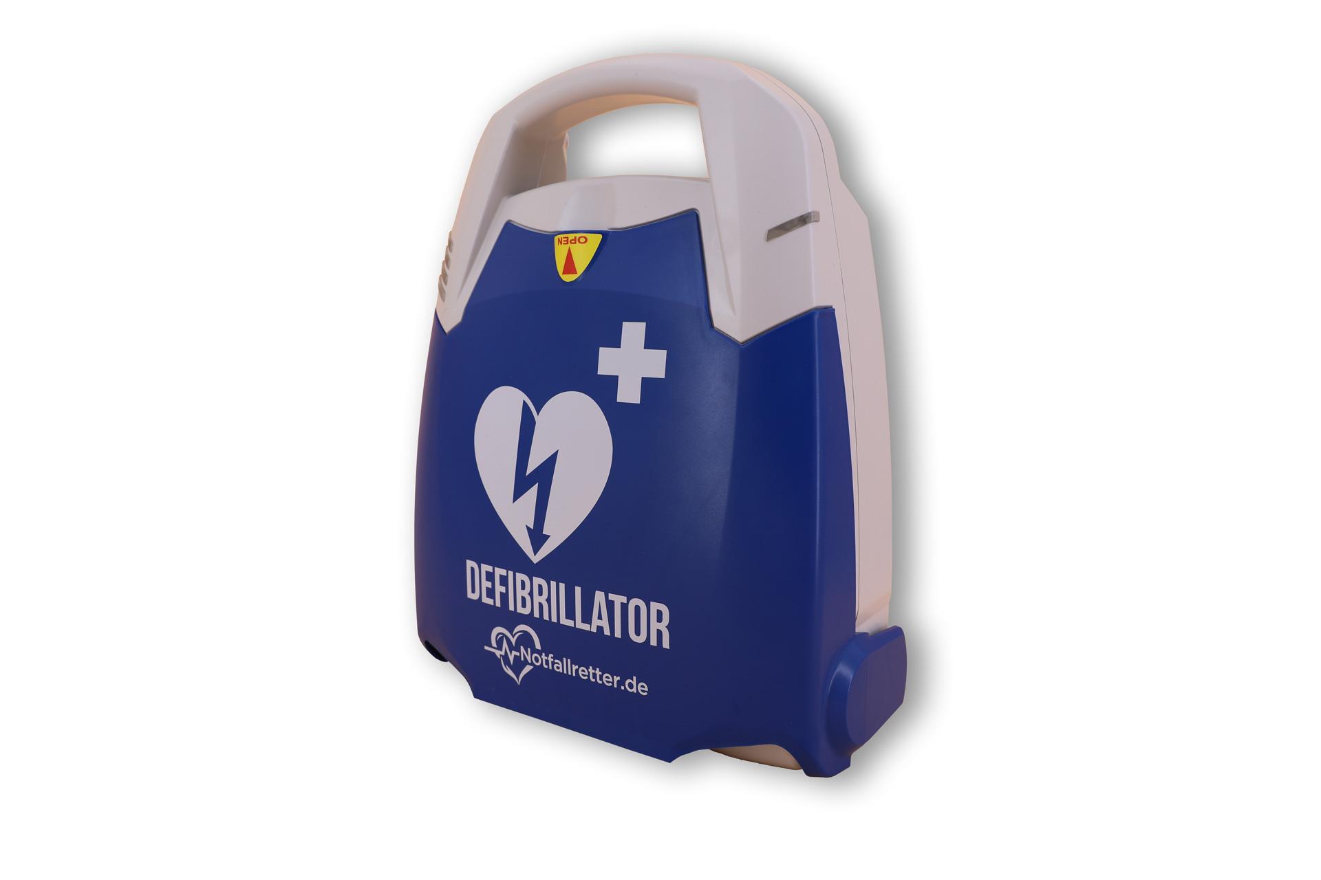 Notfallretter.de® Basic AED - recchte Seite