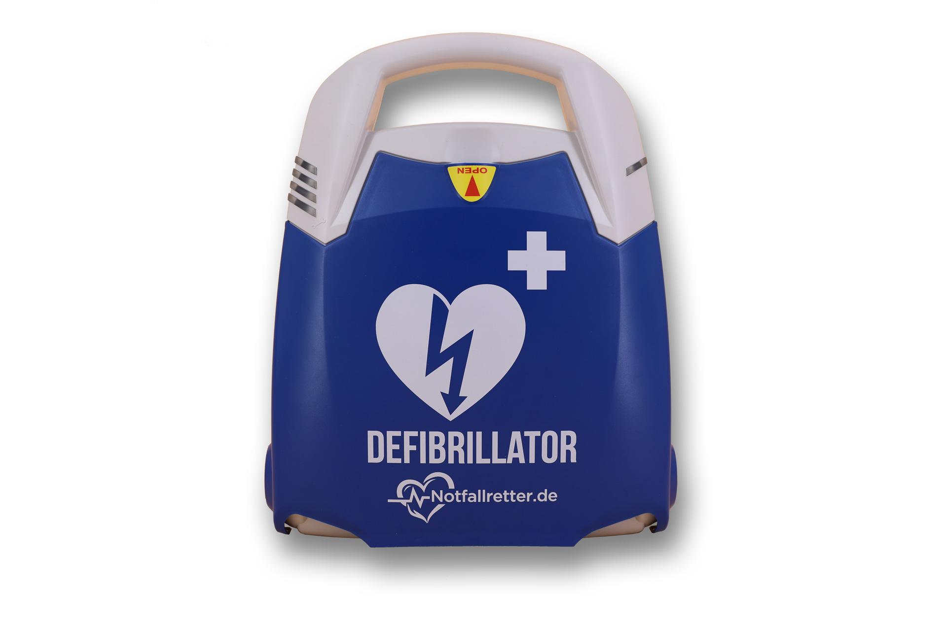 Notfallretter.de® Basic AED - Front
